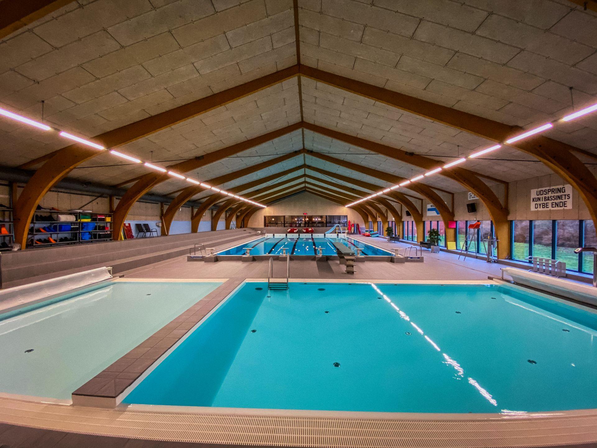 Vinderup Hallerne, Svømmehallen, Vinderup Svømmehal